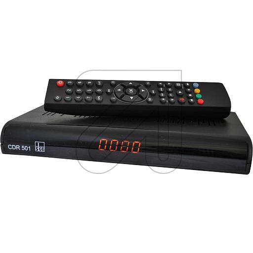 digitaler kabelreceiver cdr 501 sat receiver. Black Bedroom Furniture Sets. Home Design Ideas